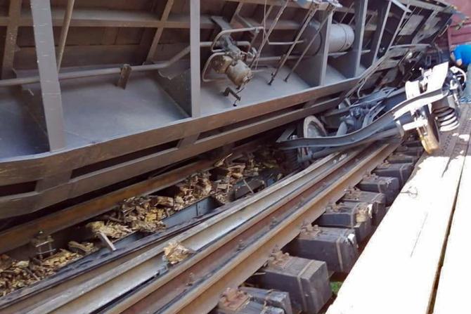 Un tren a deraiat pe ruta București - Craiova