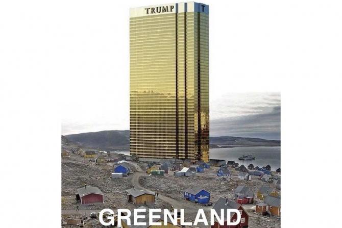 Gluma făcută de Donald Trump
