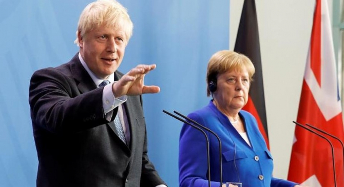 Premierul britanic și cancelarul Germaniei