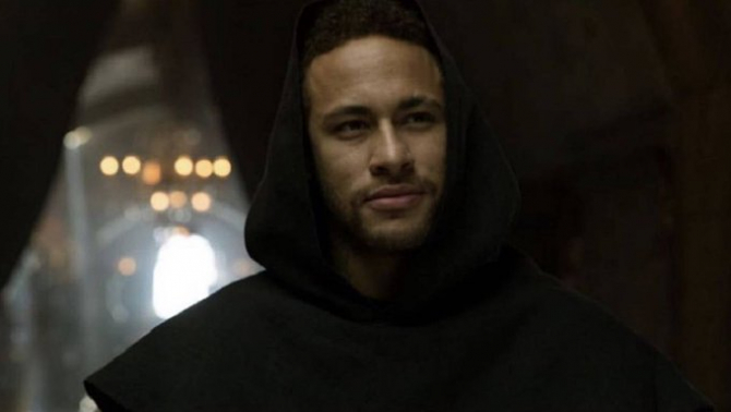 Neymar joacă rolul unui călugăr