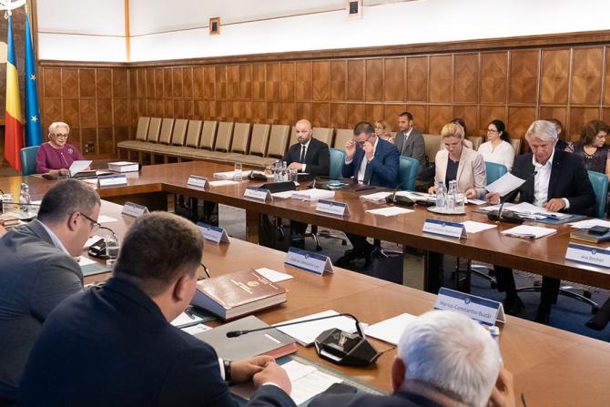 Rectificare bugetară a fost aprobată în ședința de Guvern