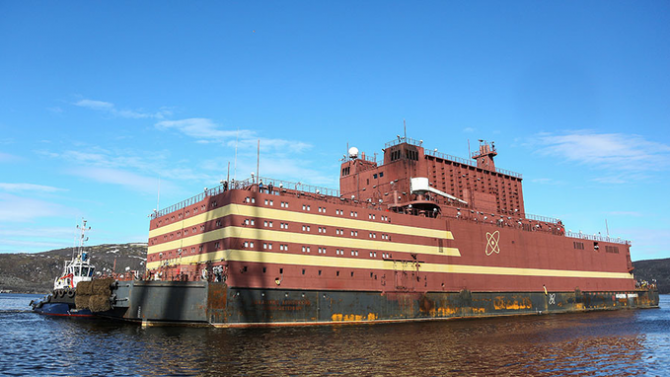 Prima centrală nucleară plutitoare din lume