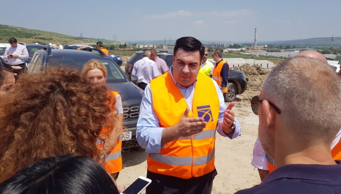Răzvan Cuc a fost însoțit de ministrul Eugen Teodorovici
