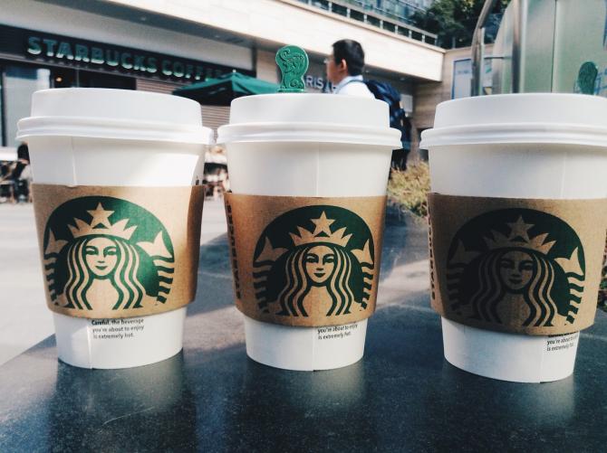 Starbucks este una dintre cafenelele favorite ale chinezilor