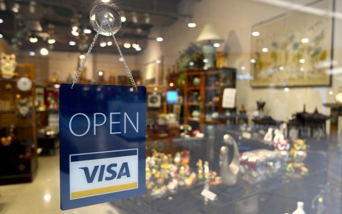 Serviciul de plăţi instant Visa Direct, lansat în premieră în România