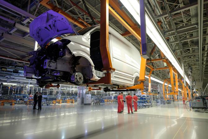 Volkswagen are investiția blocată