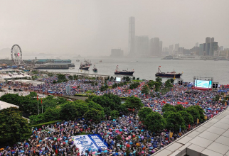 Mișcarea Umbrelelor, Hong Kong