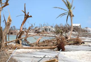 Insula Abaco, după trececrea uraganului Dorian / Foto: UNICEF