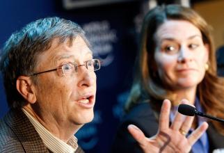 Omul de afaceri Bill Gates, fondatorul Microsoft