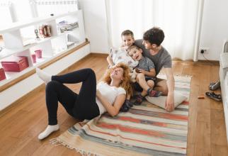 Majoritatea familiilor au în proprietate locuința în care trăiesc