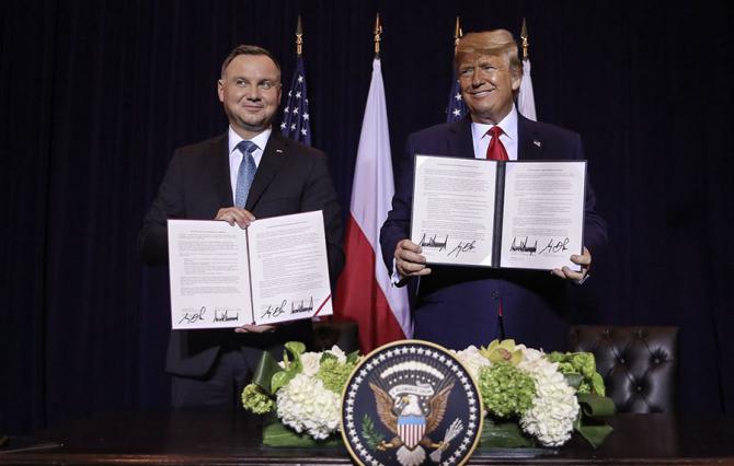 Andrzej Duda si Donald Trump
