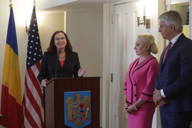 Tatiana Proskuryakova, Viorica Dăncilă și Eugen Teodorovici