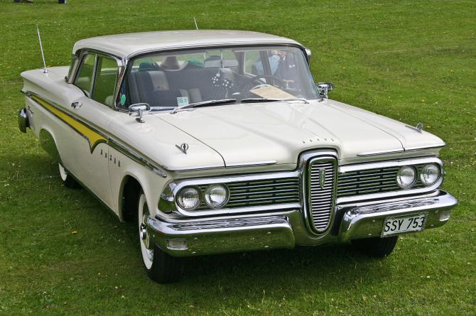 Ford Edsel - Sursa: Wikipedia