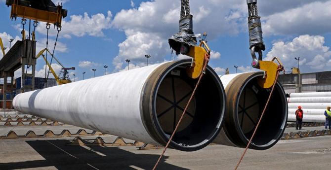Un gazoduct pentru transportul gazelor rusești