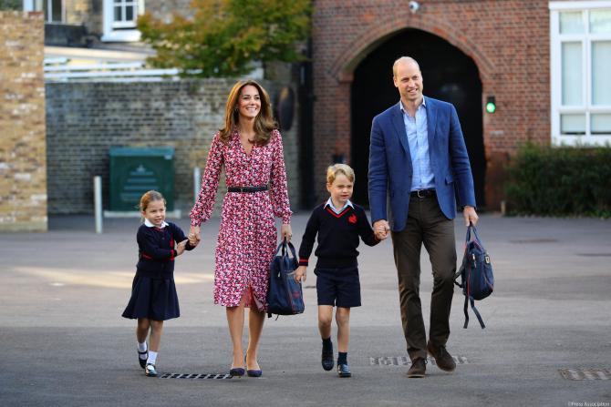 Suspiciune cu coronavirus la școala prinților George și Charlotte