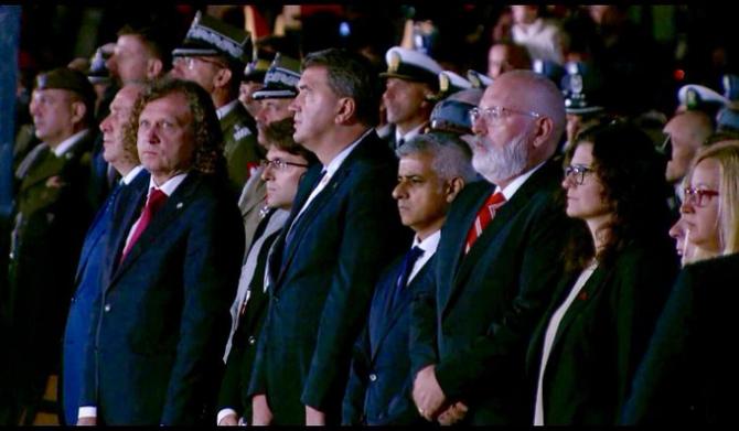 Liderii lumii la ceremoniile organizate la Gdansk