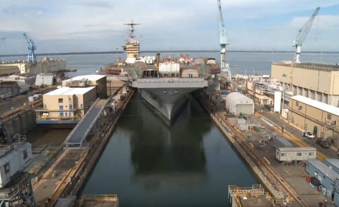 Prea multe nave se află pe șantierle navale, pentru reparații