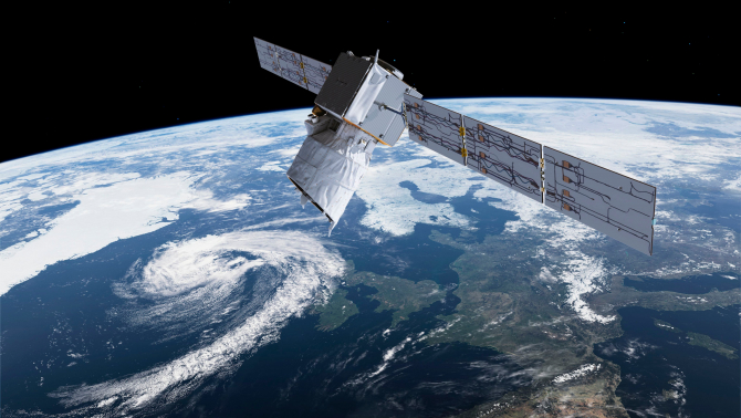 Satelitul Aeolus