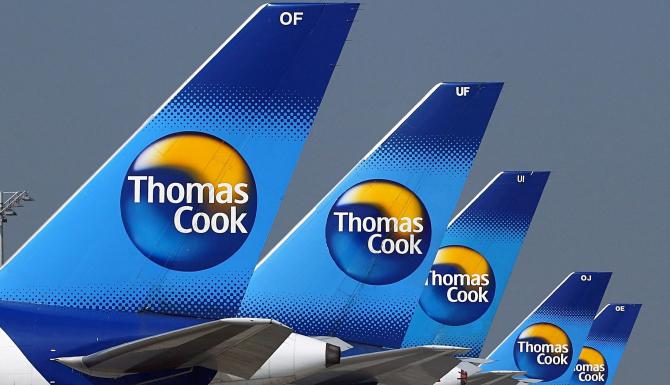 Operatorul britanic Thomas Cook a anunţat intrarea în faliment