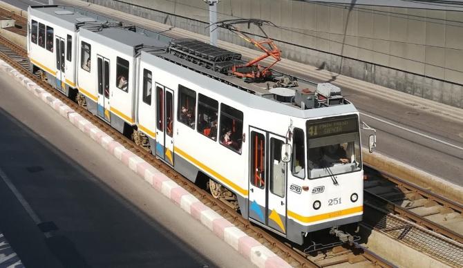 Tramvaiul 41 nu va circula în weekend-uri