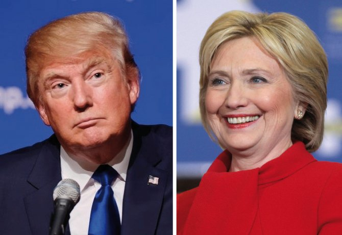 Donald Trump și Hillary Clinton