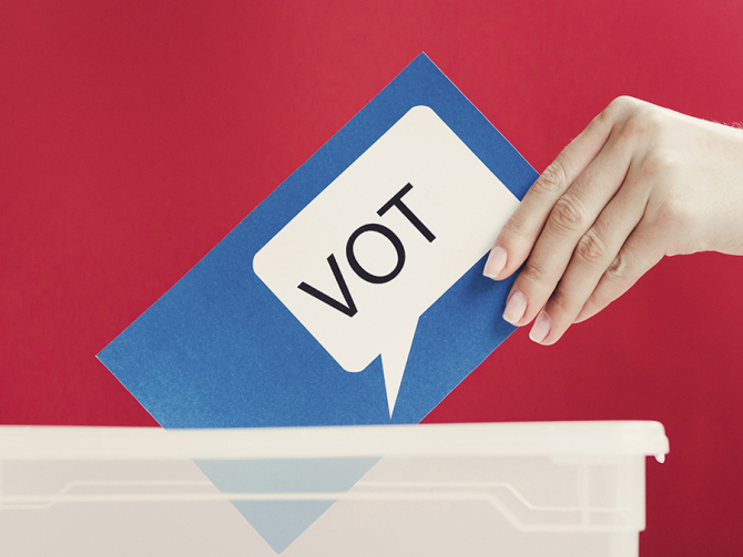 Prezenţa la vot în turul al doilea al alegerilor prezidenţiale a fost, duminică, la nivel naţional, până la ora 15,00, de 31,39%