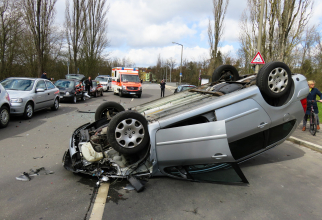 Multe accidente, odată cu intrarea în starea de alertă