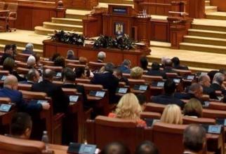 O nouă zi de foc în Parlament