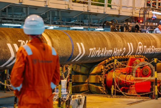 Tranzitul gazelor naturale prin Ucraina spre Turcia şi Bulgaria a fost oprit după lansarea gazoductului TurkStream