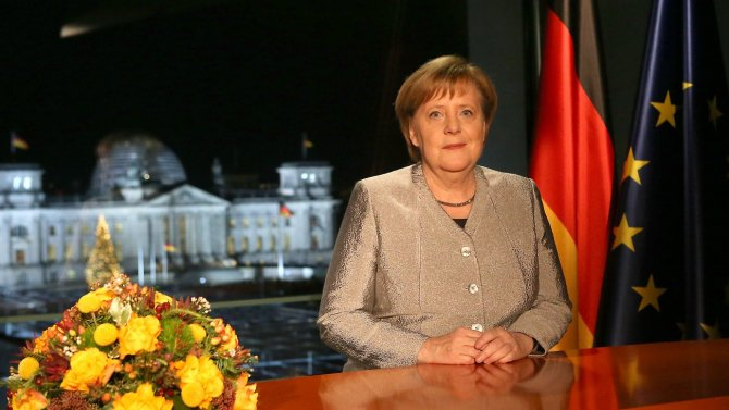 Cancelarul german Angela Merkel