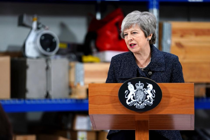 Fostul premier conservator britanic Theresa May