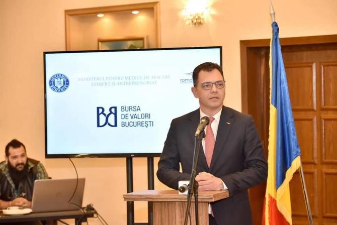 Ştefan-Radu Oprea, ministrul pentru Mediul de Afaceri, Comerţ şi Antreprenoriat