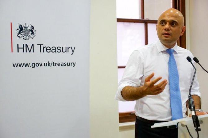 Sajid Javid- Ministrul de finanțe britanic