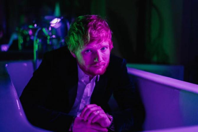 Muzicianul Ed Sheeran