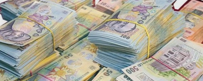 Moneda naţională s-a apreciat uşor miercuri în raport cu euro