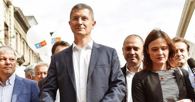 Liderul USR, în campanie electorală
