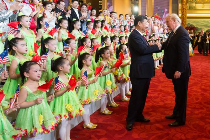 Xi Jinping și Donald Trump