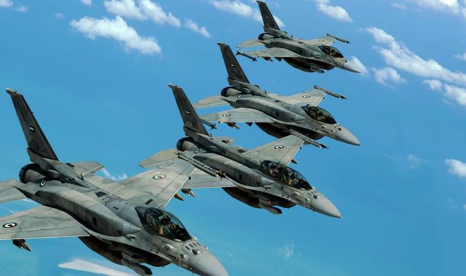 Avioanele de luptă f-16