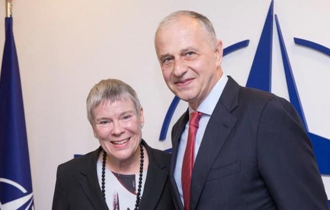 Mircea Geoană a preluat mandatul de la Rose Gottemoeller