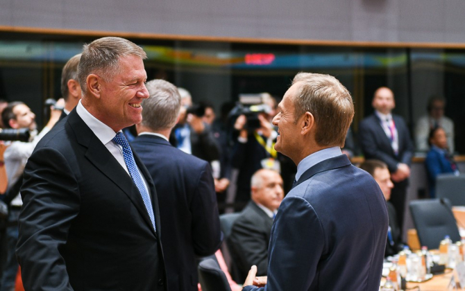 Președintele României la summitul UE