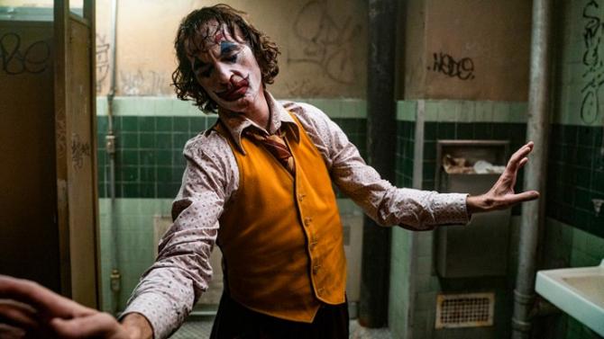 Scenă din filmul Joker