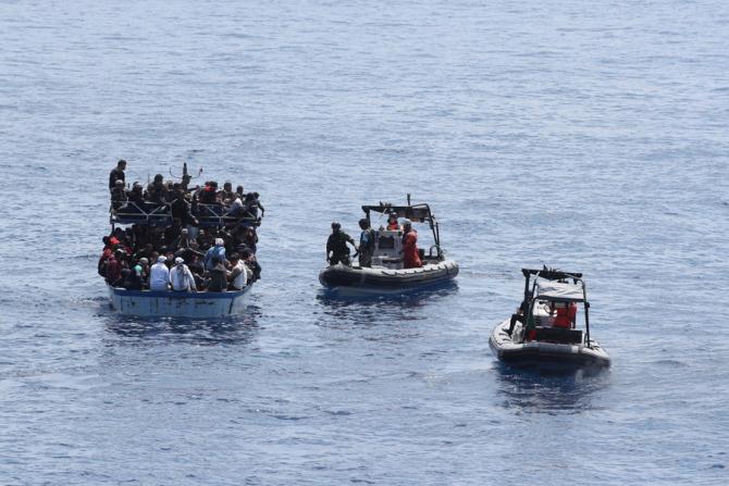 Europa va trebui să facă față unui val și mai mare de migranți / Foto: Frontex