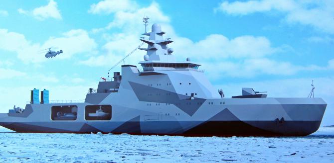 Este o primă navă dintr-un proiect mai amplu