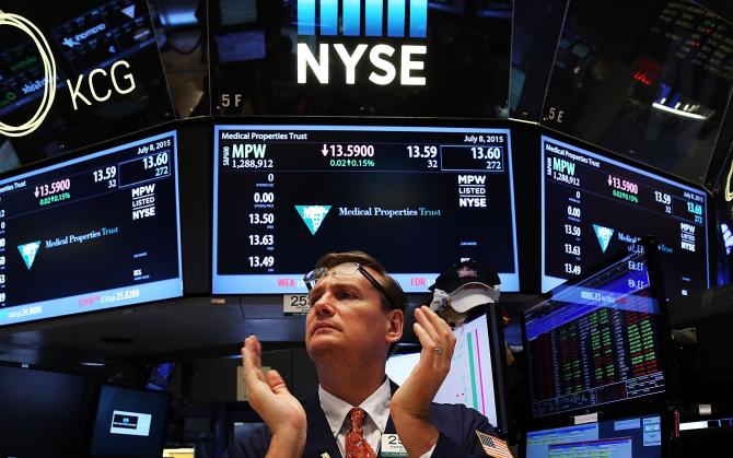 Piața de tranzacționare a deschis în creștere