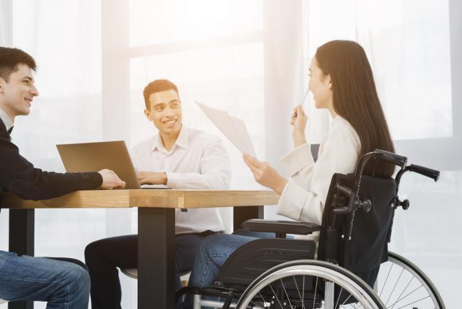 Subvențiile se vor acorda diferențiat pentru grade diferite de handicap / Foto: freepik.com
