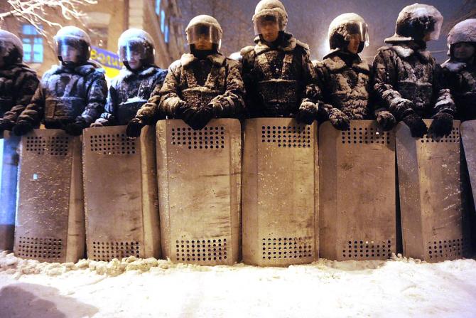 Poliția bagă spaima în ruși ca și radiațiile sau catastrofele naturale