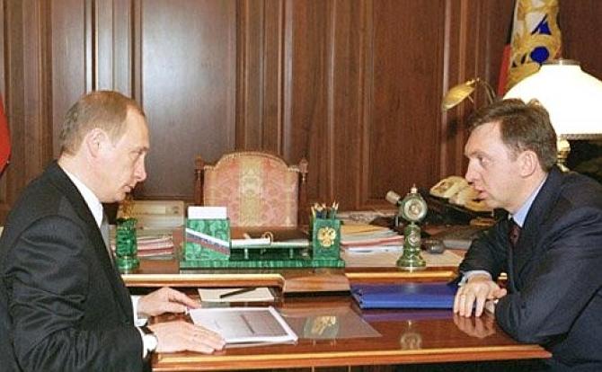 Vladimir Putin și Oleg Deripaska / Foto: kremlin.ru