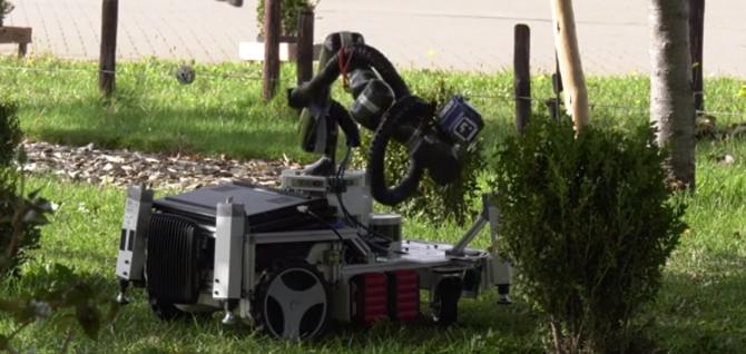 'Trimbot', noul robot