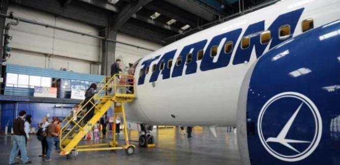 Managementul companiei TAROM a semnat contractul de leasing