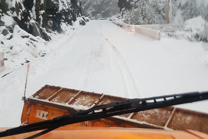 Drumarii s-au apucat de treaba